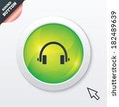 headphones sign icon. earphones ...