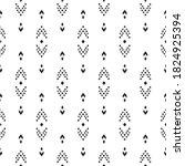 tribal seamless background....   Shutterstock .eps vector #1824925394