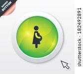 pregnant sign icon. women...