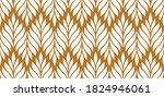 vector geometric seamless... | Shutterstock .eps vector #1824946061