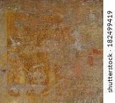abstract grunge orange rust... | Shutterstock . vector #182499419
