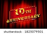 10 years. with the anniversary. ...   Shutterstock . vector #1825079501