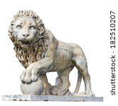 Marble Sculpture Of Lion...