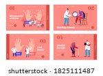 rheumatoid arthritis landing... | Shutterstock .eps vector #1825111487