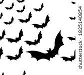 vector graphics. halloween's... | Shutterstock .eps vector #1825140854