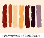 autumn grunge hand drawn...   Shutterstock .eps vector #1825209311