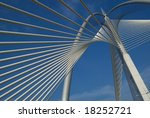 a view of one of the steel... | Shutterstock . vector #18252721