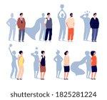 motivation leader. superhero... | Shutterstock .eps vector #1825281224