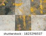 rusty greenish black and white... | Shutterstock . vector #1825298537