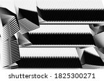 abstract halftone lines... | Shutterstock .eps vector #1825300271