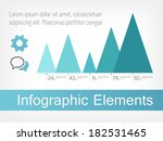 flat infographic elements.... | Shutterstock .eps vector #182531465