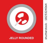jelly rounded icon   simple ...