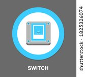 switch flat icon   simple ...