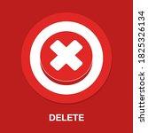 delete flat icon   simple ...