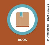 book flat icon   simple  vector ...