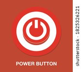 power button flat icon   simple ...