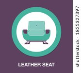 leather seat icon   simple ...