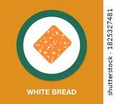 white bread icon   simple ...