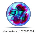 3d Render Of Abstract Art 3d...