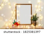 Christmas Poster Frame Mock Up...