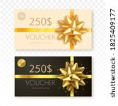 gift vouchers template isolated ... | Shutterstock .eps vector #1825409177