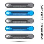 modern design template  can be... | Shutterstock .eps vector #182552897