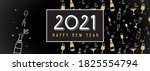 new year 2021 banner. pattern... | Shutterstock .eps vector #1825554794