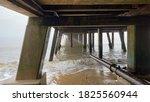 Pier Structure Wooden Legs...
