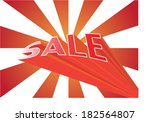sale vector | Shutterstock .eps vector #182564807