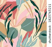 artistic seamless pattern with... | Shutterstock .eps vector #1825765211
