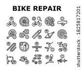 bike repair service collection... | Shutterstock .eps vector #1825817201