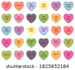 Sweet Candy Hearts. Mini...