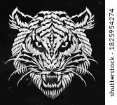 Tiger. Gothic Abstract...