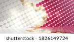 qatar design. colors of the... | Shutterstock . vector #1826149724