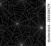 seamless pattern with spider... | Shutterstock .eps vector #1826186174