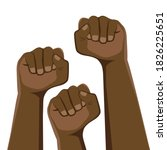 demonstration  revolution ... | Shutterstock .eps vector #1826225651
