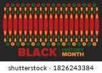 black history month. african...   Shutterstock .eps vector #1826243384