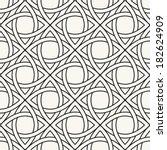celtic seamless pattern.... | Shutterstock .eps vector #182624909