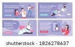 house neighbors concept icons...   Shutterstock .eps vector #1826278637