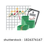 economy and finance concept.... | Shutterstock .eps vector #1826376167