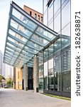 exterior of modern buildings  | Shutterstock . vector #182638871