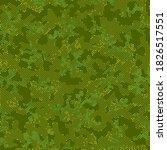 seamless vector pattern design. ... | Shutterstock .eps vector #1826517551