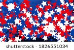 colors of american flag. usa... | Shutterstock .eps vector #1826551034