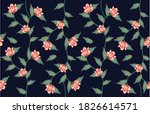 Batik Floral Pattern  Flowers...