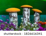 Garden Decorative Mushrooms...