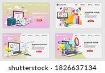 startup vector concept on... | Shutterstock .eps vector #1826637134
