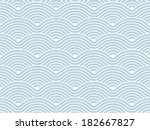 colorful geometric seamless... | Shutterstock .eps vector #182667827