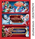 set of graphics for christmas...   Shutterstock .eps vector #1826709674