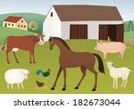 farm | Shutterstock .eps vector #182673044