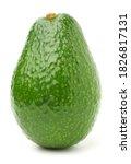 Single Avocado Isolated On...